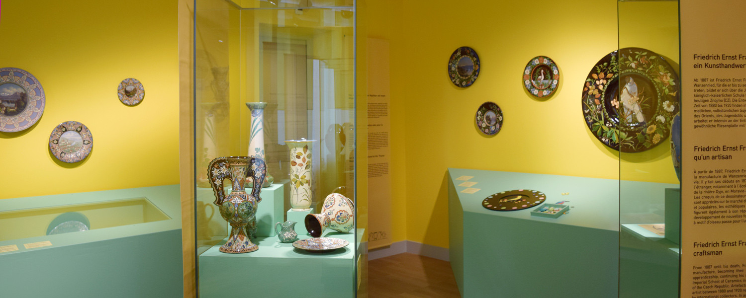 Edelweiss and the Alpine idyll – Souvenir ceramics from the Belle Époque «made in Thun»